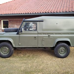 1986 LR RHD Landrover Tithonus left side