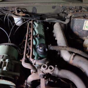 1987 LR RHD Defender Tithonus engine bay