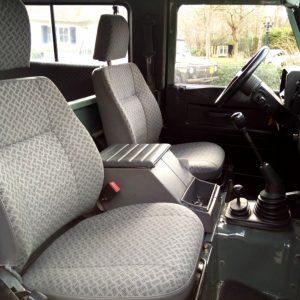1991 LR LHD Defender 90 Tdi Keswick 2 ready front seats
