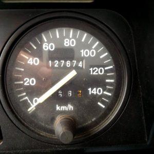 1991 LR LHD Defender 90 Tdi Keswick 2 speedo