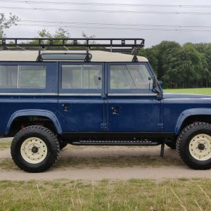 1983 LR LHD 110 ex CH Caledonian Blue B right side