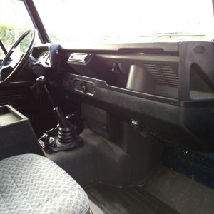 1983 LR LHD 110 ex CH Caledonian Blue dash and trim