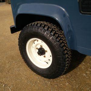 1991 LR LHD Defender 90 Tdi Arles Blue A Wolf rim new tyres