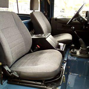 1991 LR LHD Defender 90 Tdi Arles Blue A front seats