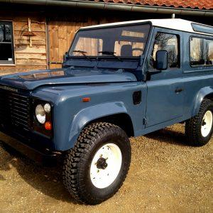 1991 LR LHD Defender 90 Tdi Arles Blue A left front