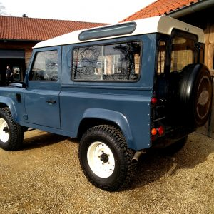 1991 LR LHD Defender 90 Tdi Arles Blue A left rear 1