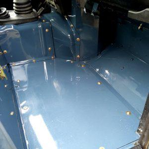 1991 LR LHD Defender 90 Tdi Arles Blue A pass floor