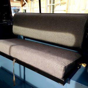 1991 LR LHD Defender 90 Tdi Arles Blue A rear benchseat