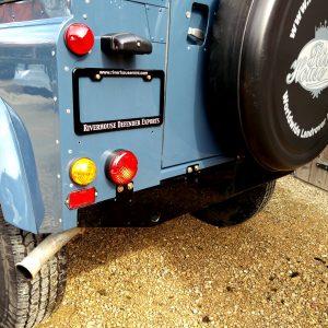 1991 LR LHD Defender 90 Tdi Arles Blue A rear crossmember