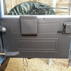 1991 LR LHD Defender 90 Tdi Arles Blue A rear doorcard