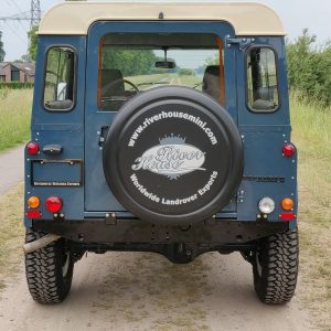1991 LR LHD Defender 90 Tdi Arles Blue AA rear