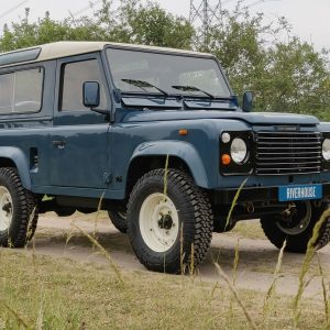 1991 LR LHD Defender 90 Tdi Arles Blue AA right front