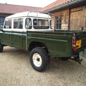 1984 LR LHD Defender 127 Eastnor Green left rear