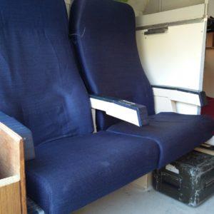 1984 LR LHD Defender 110 3.5V8 Camper inside seats