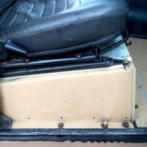 1984 LR LHD Defender 110 3.5V8 Camper seatbase right