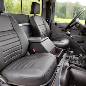 1996 LR LHD Defender 90 Grey 300 Tdi A front seats