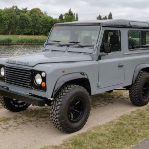 1996 LR LHD Defender 90 Grey 300 Tdi A left front
