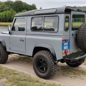 1996 LR LHD Defender 90 Grey 300 Tdi A left rear