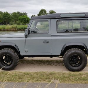 1996 LR LHD Defender 90 Grey 300 Tdi A left side