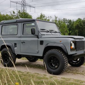 1996 LR LHD Defender 90 Grey 300 Tdi A right front