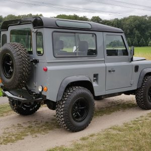 1996 LR LHD Defender 90 Grey 300 Tdi A right rear