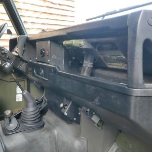 1986 LR LHD Defender Tithonus dash and trim