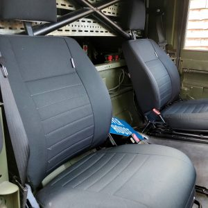 1986 LR LHD Defender Tithonus front seats