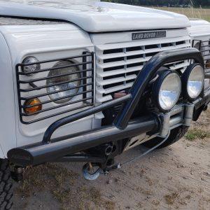 1988 LR LHD Defender 110 Td White A winch bumper