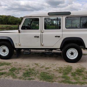 1994 LR LHD Defender 110 5dr 300 Tdi A White left side