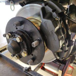 1994 LR LHD Defender 110 5dr 300 Tdi B NAS wheels new fr brakes left