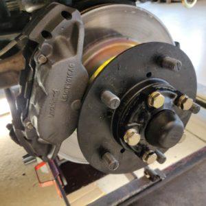 1994 LR LHD Defender 110 5dr 300 Tdi B NAS wheels new fr brakes right