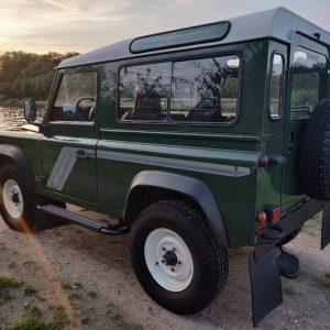 1994 LR LHD Defender 90 Conisten Green left rear