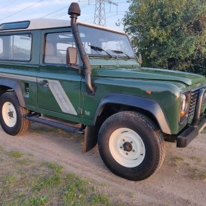 1994 LR LHD Defender 90 Conisten Green right front