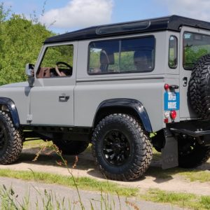 1994 LR LHD Defender 90 Nardo Grey A left rear