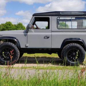 1994 LR LHD Defender 90 Nardo Grey A left side