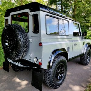1994 LR LHD Defender 90 Nardo Grey A right rear