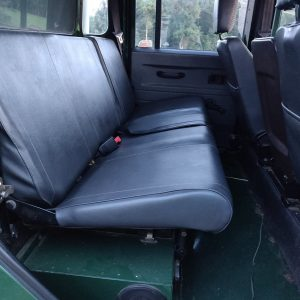 1995 LR LHD Defender 130 Conisten Green 2nd row seat