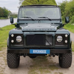 1995 LR LHD Defender 90 300 tdi Aintree AA open front