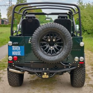 1995 LR LHD Defender 90 300 tdi Aintree AA open rear rear