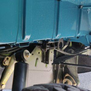 1992 LR LHD 110 Tuscan Blue 200 Tdi A open rear innerwing RH