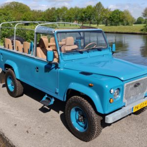 1992 LR LHD 110 Tuscan Blue 200 Tdi A open right front top