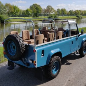 1992 LR LHD 110 Tuscan Blue 200 Tdi A open right rear top