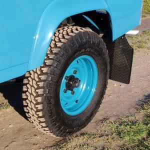 1992 LR LHD 110 Tuscan Blue 200 Tdi ready WOLF rims