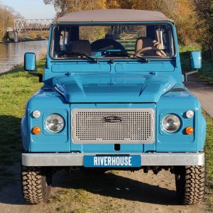 1992 LR LHD 110 Tuscan Blue 200 Tdi ready front front