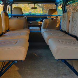 1992 LR LHD 110 Tuscan Blue 200 Tdi ready jump seats middle rear
