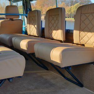 1992 LR LHD 110 Tuscan Blue 200 Tdi ready jump seats rear
