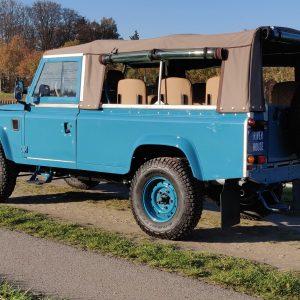 1992 LR LHD 110 Tuscan Blue 200 Tdi ready left rear