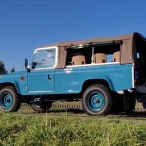 1992 LR LHD 110 Tuscan Blue 200 Tdi ready left rear low