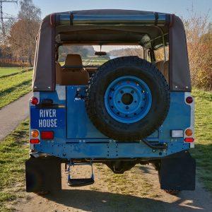 1992 LR LHD 110 Tuscan Blue 200 Tdi ready rear