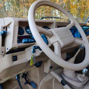 1992 LR LHD 110 Tuscan Blue 200 Tdi ready steering wheel left